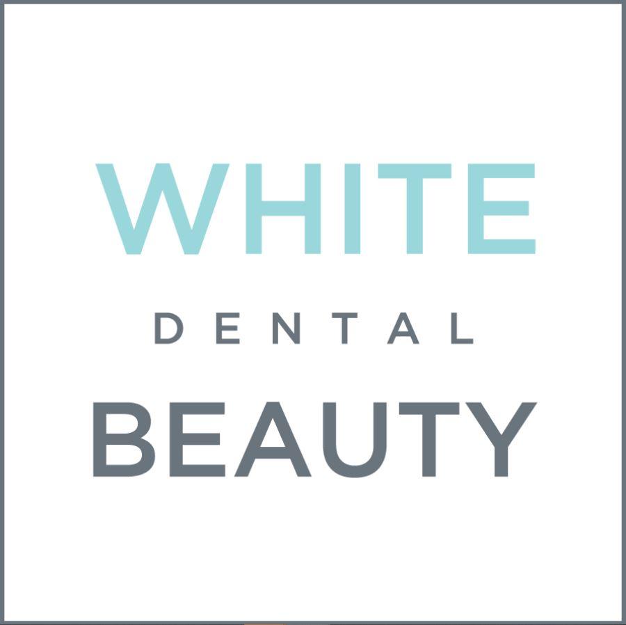 white dental beauty logo