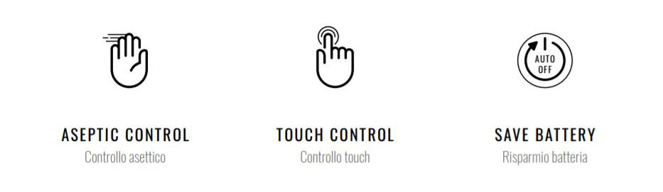 HAND CONTROL UNIVET style italiano