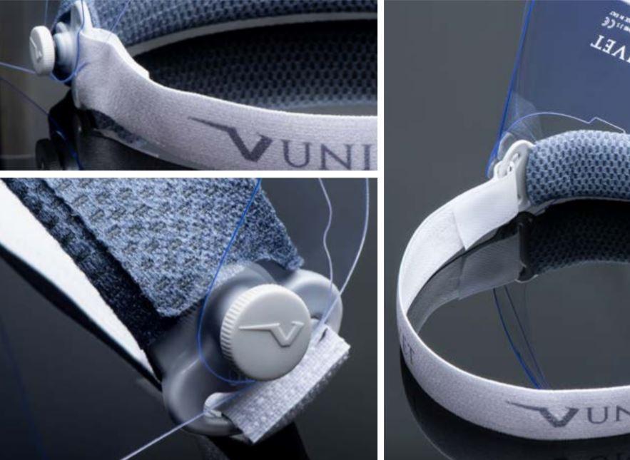 safety visor univet style italiano styleitaliano details